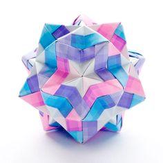 Star Sonobe, Sonobe Variation (Designer:Maria Sinayskaya) - Video Tutorial