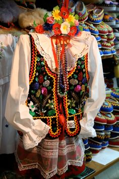 Women's folk outfit from Kraków