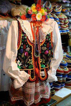 Women's folk outfit from Kraków