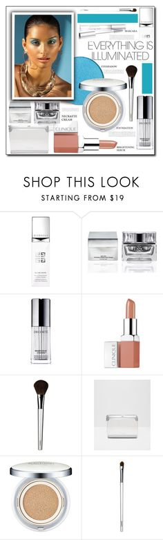 """SUMMER BEAUTY"" by littlefeather1 ❤ liked on Polyvore featuring beauty, Givenchy, Deep Sea Cosmetics, Decorté, Clinique, Ted Baker, Sulwhasoo and Stop Staring!"