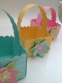 Stampin' Up! Easter Baskets