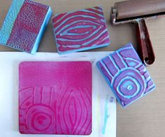 Some good ideas on this printmaking blog.