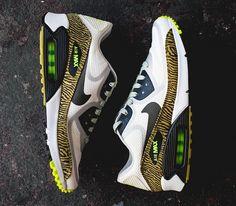 Nike Air Max 90 Tape – Yellow / Zebra