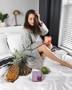 She Does Fashion: Raw Sugar Living Beauty beauty, bath fizzes, lush, pineapple, spa, relaxing, at home spa, bath time, #bathtime, relax, bathrobe, #targetstyle