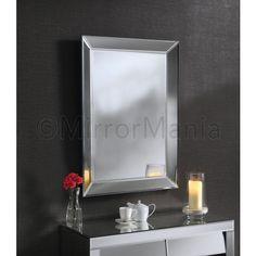 Aurora Handmade Modern Bevelled Wall & Dressing Mirror