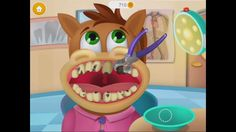 Play Check Up and Cure Patient with Little Buddies Animal - Dentist Doct...