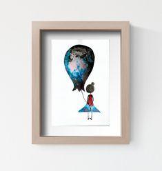 obrazek pokoik dziecka, abstrakcja czarno biała A4 Childrens Wall Art, Art Wall Kids, Art For Kids, Kids Poster, Room Pictures, Baby Nursery Decor, Frame, Painting, Vintage