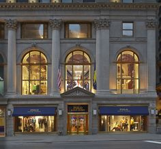 Ralph Lauren #POLO invites you into its world: The new global flagship at 711 Fifth Avenue opens today.