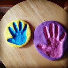 Praises of a Wife and Mommy: Salt Dough Keepsakes