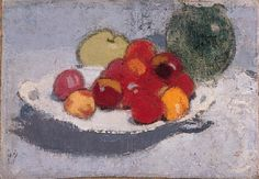 Still Life with Fruit  by Helene Schjerfbeck