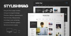 Download and review of StylishMag - Elegant News & Magazine Theme, one of the best Themeforest Magazine & Blogs themes