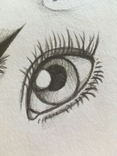Klicke um das bild zu sehen ojos a lapiz en 2019 art sketches, drawings y p Easy Eye Drawing, Eye Drawing Tutorials, Realistic Eye Drawing, Eye Sketch Easy, How To Sketch Eyes, Drawing Techniques, How To Draw Eyes, Things To Sketch, Cool Art Drawings