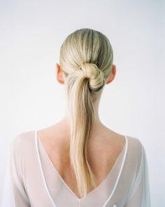 Chic Bridesmaid Hair Straight, Bridesmaid Hair Updo Braid, Bridal Ponytail, Bridesmaid Hair Medium Length, Bridesmaid Hair Half Up, Ponytail Hairstyles, Diy Hairstyles, Wedding Hairstyles, Hairstyles Videos