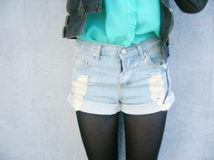 Denim Shorts-- tomorrows outfit!!!!