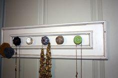cupboard door upcycle