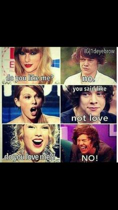 Ahahahah eat it Taylor lol      This is how we found out that Haylor is over