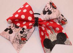 NEW 2014 Glitzy Items! Disney Cheer Bows, Cheerleading Bows, Softball Bows, Big Bows, Cute Bows, Cheer Mom, Cheer Stuff, Cheer Pics, Mickey Ears
