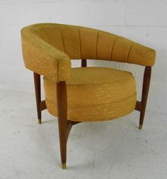 Ordinaire 1stdibs.com | Mid Century Barrel Back Chair 1950s Furniture, Mid Century  Furniture