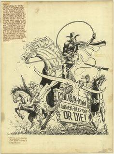 The Drawings of Steranko - Western Gunfighters 14