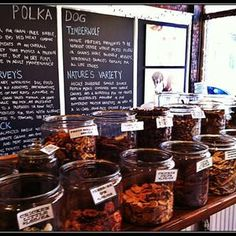 Polka Dog Bakery in the South End, Boston