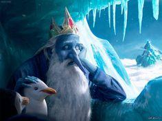 Ice King adventure time adventure time, ice king, digital art, Anime Art