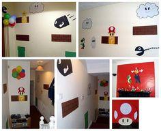 Handmade Super Mario Decorations (2) by Drummbellina, via Flickr