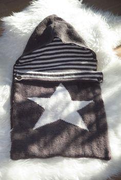 Strikk en varm og stilig vognpose til babyen