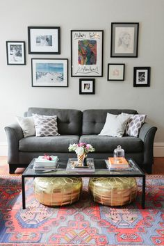 Money-Saving Tips For Decorating Your First Apartment 2019 Decorating your first apartment. Or just cleaver ideas for apartment living. The post Money-Saving Tips For Decorating Your First Apartment 2019 appeared first on Apartment Diy. My Living Room, Home And Living, Cozy Living, Small Living Room Ideas On A Budget, Decor For Small Spaces, Diy Home Decor On A Budget Living Room, Modern Living, Gray Couch Living Room, Grey Couch Decor