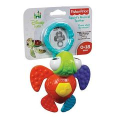 Disney Baby Finding Nemo Squirt's Musical Teether by Fisher-Price