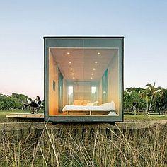 MAPA MiniMod Prefab | Glass End Walls Offer Country & Lake Views