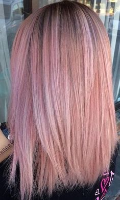 Beautiful pink hair color ideas makes looks stunning. Hot Pink Beautiful Hot Pink Hair Color Ideas To Makes You Looks Stunning 66 Allure Beautiful Hot Pink Hair Color Ideas To Makes You Looks Stunning 66 Rose Pink Hair, Pastel Pink Hair, Hair Color Pink, Mermaid Hair Colors, Pink With Black Hair, Rose Gold Toner Hair, Hair Colours 2018, Dyed Hair Pink, 2 Tone Hair Color