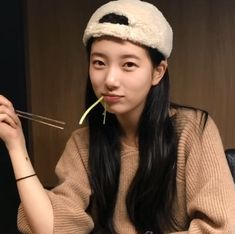 Suzy Bae Eating 2018