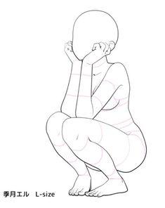 """Leg movement / rotation"" (part Reference sheet Tips for artistic drawing . - ""Leg movement / rotation"" (part reference sheet tips for artistic drawings- ""bone movement / rot - Pencil Art Drawings, Art Drawings Sketches, Cute Drawings, Drawing Base, Manga Drawing, Poses Anime, Manga Poses, Art Du Croquis, Poses References"
