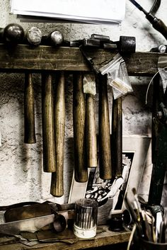 goldsmiths workshop, via Flickr.