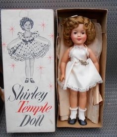 Shirley Temple Doll...I had this doll with 12 outfits.