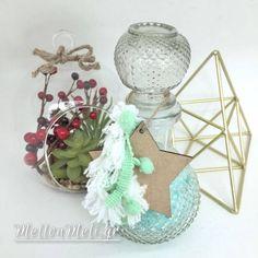 Αρωματικά άλατα σε Vintage μπουκάλι #2 Snow Globes, Vintage, Home Decor, Decoration Home, Interior Design, Home Interior Design, Home Improvement