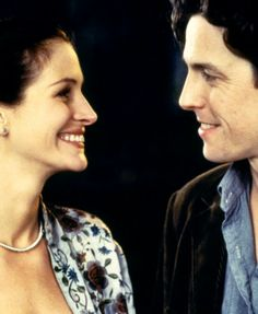 Julia Roberts & Hugh Grant - 'Notting Hill', 1999. I just watched this the other day and remembered how much I love it <3