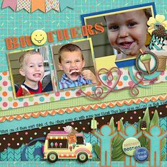 They ALL love their ice cream! JoCee Designs: Ice Cream Shop kit: http://store.gingerscraps.net/Ice-Cream-Shoppe-Bundle.html  Mags Graphics: Lifelong friends http://store.gingerscraps.net/Lifelong-Friends-ELEMENT-Pack.html  Connie Princes template FIND THE FISH COLLECTION http://store.gingerscraps.net/Find-The-Fish-12x12-Templates-CU-Ok.html