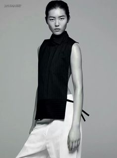 Liu Wen Rika magazine