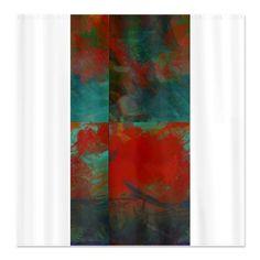 Ingrid Padilla Charisma Blue Shower Curtain   Blue Shower Curtains, Duvet  And Throw Pillows