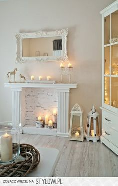 Pinterest fake fireplaces | all because I'm feeling especially Southern today for some reason ...