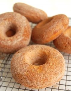 Pumpkin Cake Doughnuts – Easy baked doughnuts are dense, moist, and packed with pumpkin flavor.
