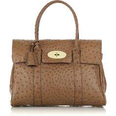 Mulberry | Bayswater ostrich leather bag
