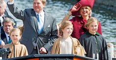 Dutch Royal Family celebrates King's Day 2015 in Dordrecht