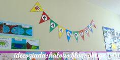 Ιδέες για δασκάλους:Σημαιάκια για την τάξη