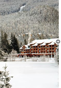 With its majestic mountain views and cozy suites, the Nita Lake Lodge is the perfect place to take it easy after a day on the slopes.