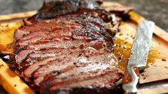 LOW-AND-SLOW SMOKED BEEF BRISKET *Grill or smoker http://www.foxnews.com/recipe/low-and-slow-smoked-beef-brisket