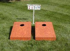 bean bag toss game score keeper | Cornhole Game - ScoreStrip - Score Products