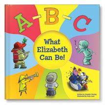 Your child will enjoy learning all the different careers in the alphabet with the ABC What I Can Be! Personalized Book for toddlers. Make the abc's fun! Abc For Kids, Books For Boys, Toddler Books, Childrens Books, Baby Books, Personalized Books For Kids, Personalized Baby, Abc Alphabet, Fun Illustration