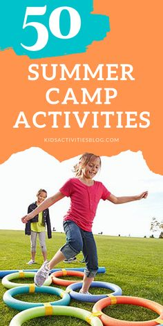 Classic and creative activities inspired by summer camp! These ideas are perfect for sleep away camp, boy scouts, girl scouts, explorers, or creating your own summer camp at home!